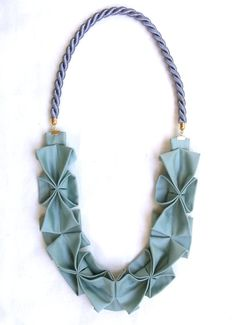 origami rope necklace