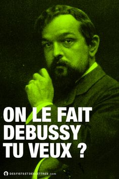 On le fait Debussy tu veux ? Sigmund Freud, Lol, Auguste Derriere, Funny Art, Cool Pictures, Laughter, Poetry, Graphic Design, Words