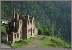 """""""The ruins of a church in Murree dating back to the times of British Raj in the subcontinent. Murree was once the summer capital of the province of Punjab where the English would come to spend the hot summers. Its pleasant during the summer months and when the snow comes ... it's even prettier. Memories of the old times are scattered over the hills in the form of aging structures"""" ~ by pkspare"""
