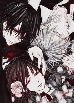 Vampire knight ( Kaname, Yuki and Zero)