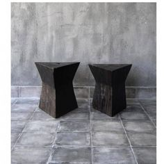 TRIANGLE STOOL Wood 1 | From a unique collection of abstract sculptures at https://www.1stdibs.com/art/sculptures/abstract-sculptures/