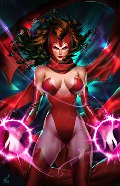 Scarlet Witch •Kevin
