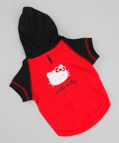 Take a look at this Red Dog Hooded Tee by Hello Kitty Pet Apparel on #zulily today!