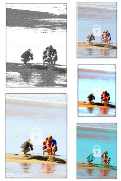 A family taking their baby to the beach for the first time First Time, Memories, Beach, Movie Posters, Art, Souvenirs, The Beach, Film Poster, Popcorn Posters