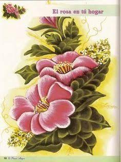 Resultado de imagen para pintura rosas tela