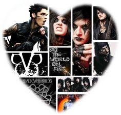 """""""Black Veil Brides"""" by xxxburningcoldxxx ❤ liked on Polyvore"""