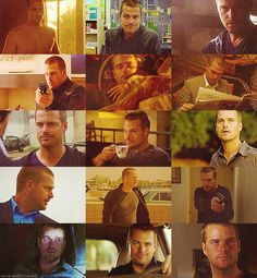 The many faces of G. Callen. [NCIS Los Angeles]