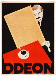 Cafe Odeon Art Print
