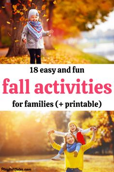 Check out this awesome list of easy and fun fall activities for families and try them with your kids! - Family fun | Fall activities for kids