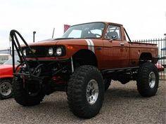 how I would build it, but I love a Luv! Nissan Trucks, Diesel Trucks, Lifted Trucks, Chevy Trucks, Pickup Trucks, Small Trucks, Mini Trucks, Cool Trucks, Chevrolet 4x4