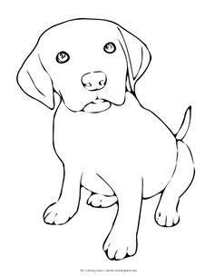 We hope you have found a puppy coloring page suitable to your taste ... Find beautiful coloring pages at TheColoringBarn.com!