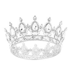 Eseres Silver Diamond Shape Tiara for Brides Pageant Crow... https://www.amazon.com/dp/B0751D5QFB/ref=cm_sw_r_pi_dp_x_TWJZzbYNHFS9B