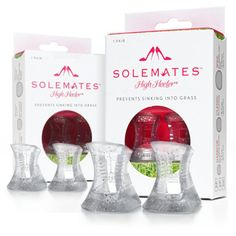 Solemates High Heeler® |The Solemates™ - High Heel® Protector Cap, Prevents Heels from Sinking into Grass