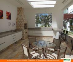 Paisagismo do Green Towers. Condomínio fechado de apartamentos localizado em  Brasília / DF.