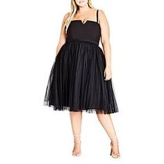 online shopping for City Chic Power Princess Fit & Flare Dress (Plus Size) from top store. See new offer for City Chic Power Princess Fit & Flare Dress (Plus Size) Plus Size Ivory Dresses, Plus Size Wedding Guest Dresses, Plus Size Cocktail Dresses, Plus Size Party Dresses, Party Dresses For Women, Plus Size Outfits, Wedding Dresses, Linen Dresses, Fit And Flare Wedding Dress