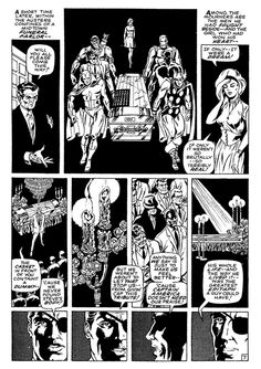 The Drawings of Steranko