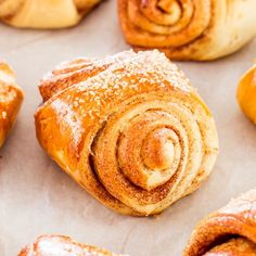 Finnish Cardamom Rolls - these rolls are sweet, flaky and delicate treasures that can be enjoyed at only 155 calories per roll.