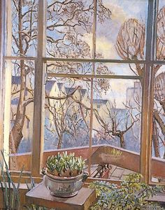 Mary Donaldson : A Window in Hampstead, London, 1937