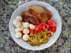 Almoço de sexta! (detalhes no blog) Eu que fiz! - http://euquefiz-sp.blogspot.com.br/ #paleo  #lowcarb  #comidasaudavel  #lchf