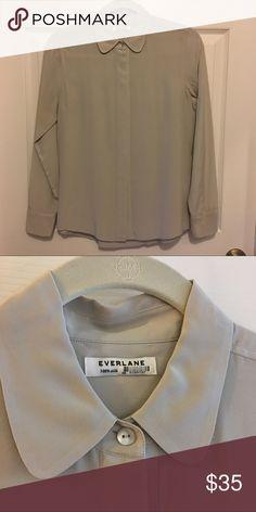 b747edd8f017 Everlane 100% Silk Button Down Blouse Everlane 100% Silk! Button down blouse  in