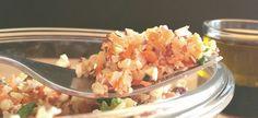 Salade quinoa boulgour noisette
