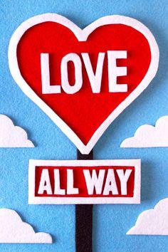 Love, love, love! Happy Valentine's Day!