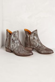 Cool boots with a metallic sheen. Anthropologie tilden booties, $140