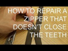 How To Fix A Broken Zipper Easily At Home