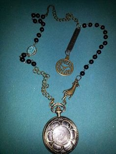 Time on  My Hands by MADDjewels on Etsy, $35.00