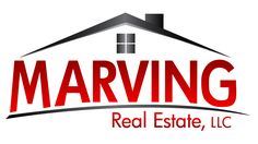 Logo design for Marving Real Estate. Goal was to look modern and classy.