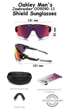 Oakley Cycling Sunglasses the Best Sunglasses for Man 9290 will also keep  your eyes safe from the mud, wind and rain as well. Top Bicycle Brands 04812ead4cc2