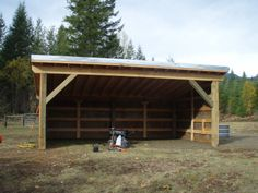 small cow shed