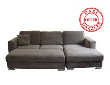 Dare Gallery - Cruise 3 Seat Sofa with Chaise & Ottman. Can't wait to snooze on this beast of a couch Value Furniture, Bedroom Furniture, Chaise Sofa, Couch, Lounge Suites, Brown House, Sofas, Ottoman, Sweet Home