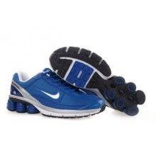 premium selection 20fd1 2a0ec Men s Nike Shox Shoes Blue Grey White For Sale, Prix   - Remise Chaussures  Originales