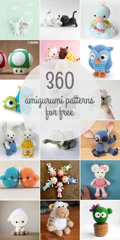 Diy Crafts - Amigurumi Patterns For Free Crochet Cat Pattern, Crochet Amigurumi Free Patterns, Crochet Animal Patterns, Stuffed Animal Patterns, Crochet Dolls, Free Crochet, Fox Pattern, Knitting Patterns, Diy Crafts Crochet