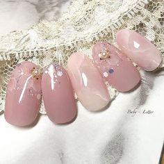Wedding Nail Art Designs For Brides Cute Nail Art, Cute Nails, Pretty Nails, Colorful Nail Designs, Cute Nail Designs, Bridal Nails, Wedding Nails, Winter Nails, Spring Nails