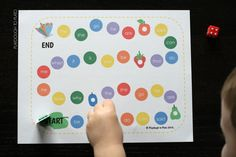 The Very Hungry Caterpillar Sight Word Game - Playdough To Plato