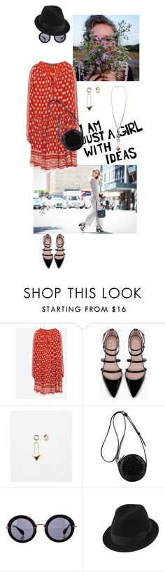 """""""Sans titre #277"""" by jessi-pham ❤ liked on Polyvore featuring Zara, 3.1 Phillip Lim, Miu Miu, women's clothing, women's fashion, women, female, woman, misses and juniors"""