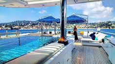 Pool days like these #capferrat #sof #superyachttitania