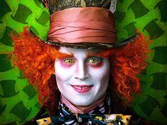 The wondrful hatmaker! Johny depp