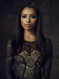"The Vampire Diaries S4 Kat Graham as ""Bonnie Bennett"""