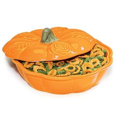 """Bake and serve with this harvestchic casserole dish. Holds up to 2 qt. Microwave and oven safe up to 350º F. Dishwasher safe. 10 1/2"""" diam. x 5"""" H. Stoneware. Imported. Just got this myself and LOVE IT!! get yours at www.youravon.com/lalbrecht"""