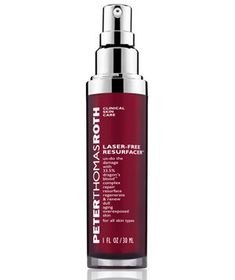 Best Anti-Aging Treatment for Oily Skin    Peter Thomas Roth Laser-Free Resurfacer With Dragon Blood's Complex  Treat it like your magic potion. The main ingredient–dragon's blood, a red resin that is extracted from a tree that grows only in the Amazon—is said to increase elasticity and improve your skin texture.  To buy: $75, peterthomasroth.com.