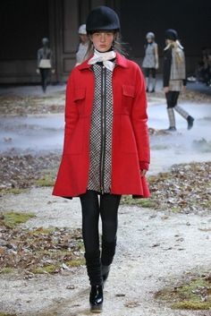 PFW Runway Report: Moncler Gamme Rouge Fall 2015 via OliviaPalermo.com