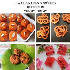 Diwali Recipes in Yummy Tummy - Diwali Sweets Recipes - Diwali Snacks Diwali Snacks, Diwali Food, Diwali Recipes, Sweets Recipes, Indian Food Recipes, Snack Recipes, Cooking Recipes, Desserts, Paneer Recipes
