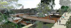 Terceiro Lugar no Concurso Nacional Parque do Mirante de Piracicaba / ÁPORO, © ÁPORO. arquitetura e urbanismo