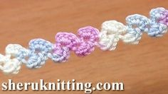 How to Crochet Small Cord Tutorial 41