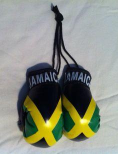 Reggae Land Muzik Store - Black Green And Gold : Jamaica Flag Mini Boxing Gloves, $6.98 (http://www.reggaelandmuzik.com/black-green-and-gold-jamaica-flag-mini-boxing-gloves/)