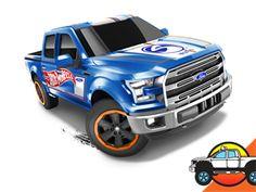 2016 HW HOT TRUCKS Series Toy Car Collection   Diecast Race Cars & Trucks   Hot Wheels