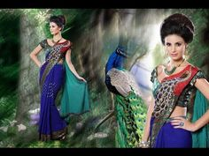 Image result for peacock design in saree pallu